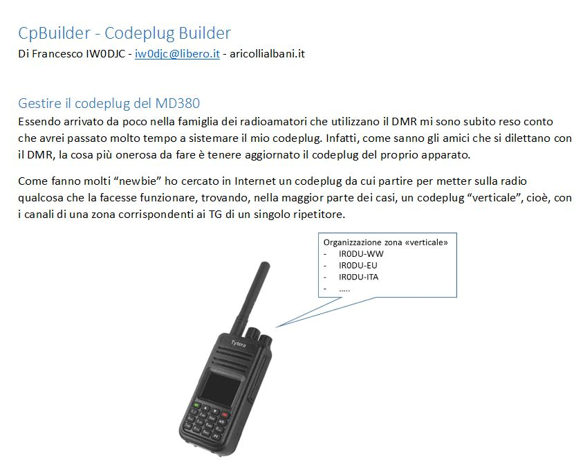 MD380 DMR Codeplug Bulider vers 04Beta